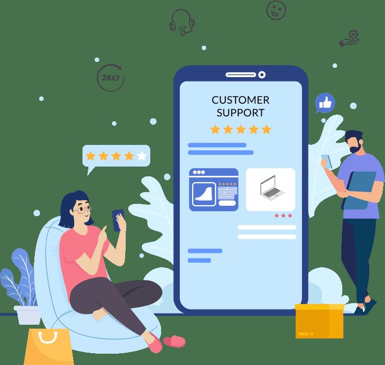 AI-powered customer service